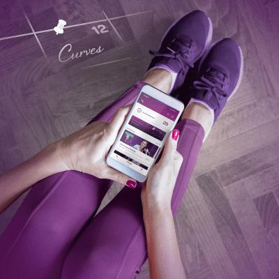 curves fitness app